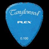 Tanglewood TWPP5 Plex Picks Pack of 12 .100 Blue