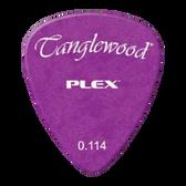 Tanglewood TWPP6 Plex Picks Pack of 12 .114 Purple