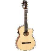 Tanglewood TWEMDC6 Enredo Madera Dominar Solid Top Classical Cutaway/Electric Guitar