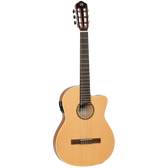 Tanglewood TWEMDC2 Enredo Madera Dominar Thinline Classical Cutaway/Electric Guitar