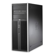HP 8200 Elite TWR Core i5 3.10GHz 4GB RAM 500GB HDD DVD-RW Windows 10 Pro