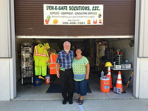 Bill and Diana Versek - principals, Ver-E-Safe Solutions, LLC