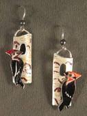 Pileated Woodpecker Earrings