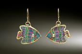 Bioluminescent Fish Earrings