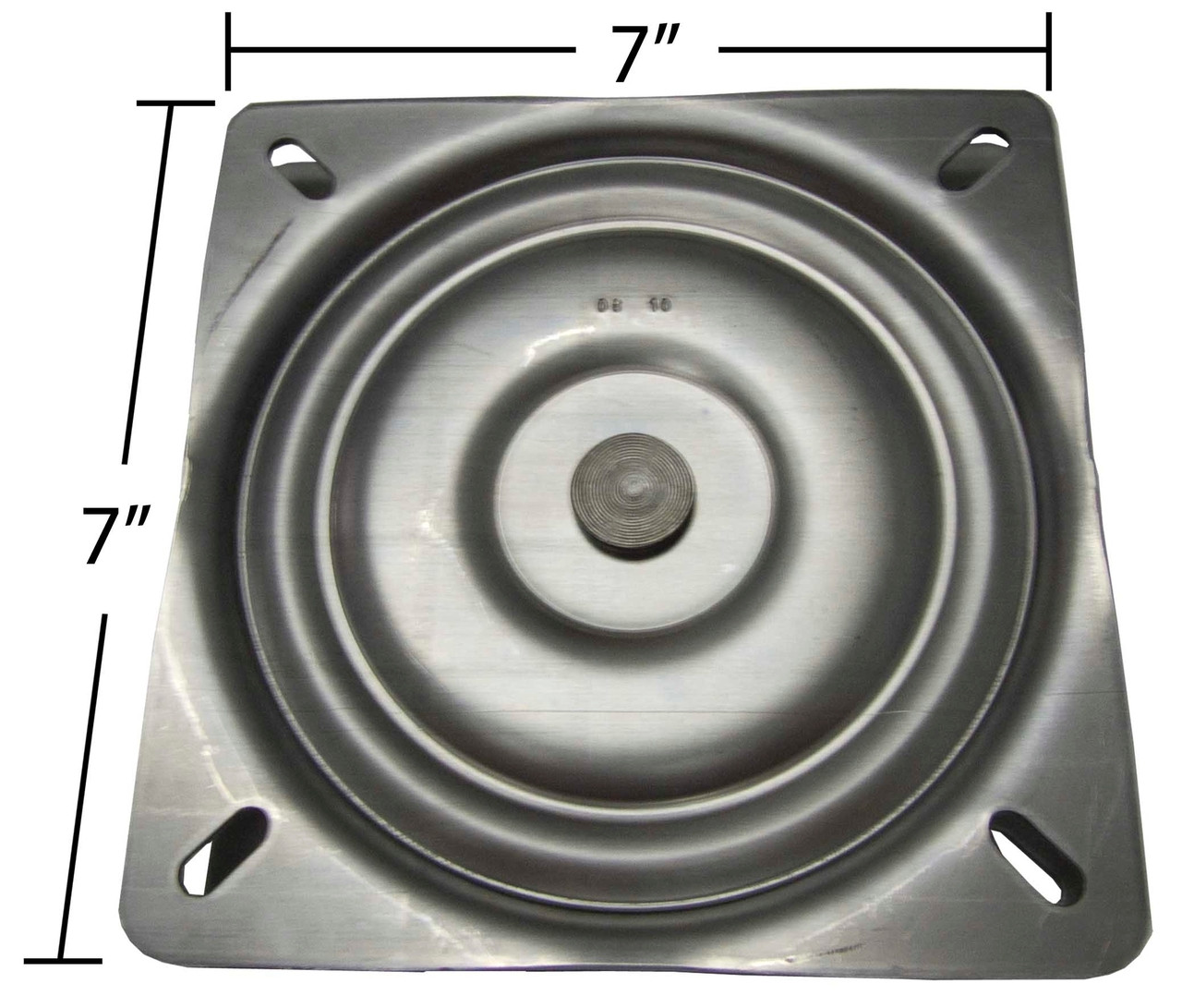 Replacement Flat Bar Stool Swivel Plate 7 Square