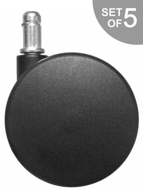 """Extra Large 3"""" Office Chair Caster Replacement Wheels - S5110"""
