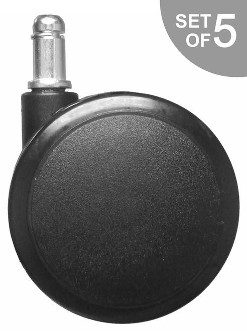 """Extra Large 3"""" Hard Floor Chair Caster Replacement - S5111"""