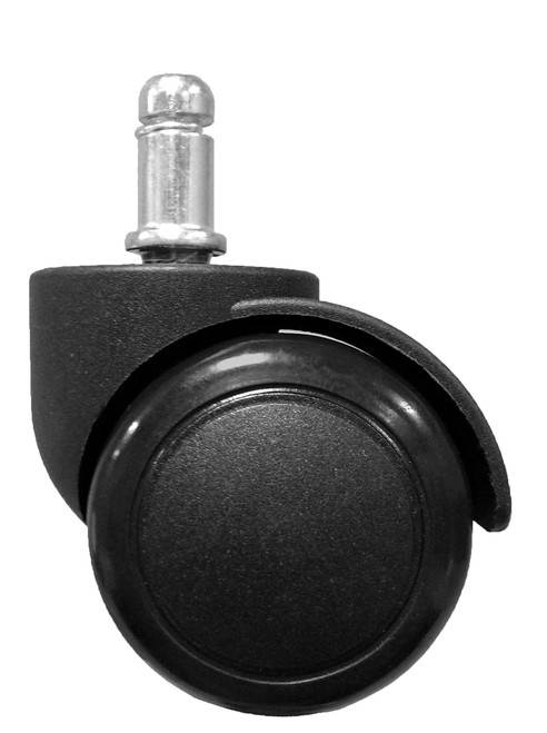 """2"""" Replacement Hard Floor Swivel Task Chair Caster - SINGLE CASTER - S2986"""