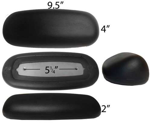 Herman Miller Replacement Ergon Armrest Arm Pads - S4110-1