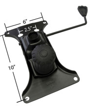 """Premium Replacement Chair Tilt Mechanism - 10.2"""" x 6"""" Mounting - CLEARANCE - S2979-S"""