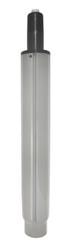 "Chrome Medium Drafting Stool Height Gas Lift Cylinder - 8"" Adjustment Range - S6132"