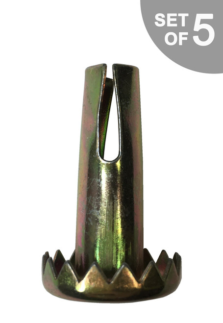 Metal Insert for Chair & Furniture Caster Socket Stem - S5356-5