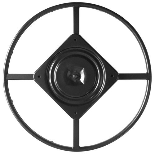 """Top View - 24"""" Replacement Ring Base w/ Swivel for Recliner Chairs & Furniture, Includes Swivel - S5454"""