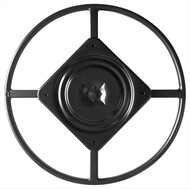 "Top View - 22"" Replacement Ring Base w/ Swivel for Recliner Chairs & Furniture, Includes Swivel - S5469"
