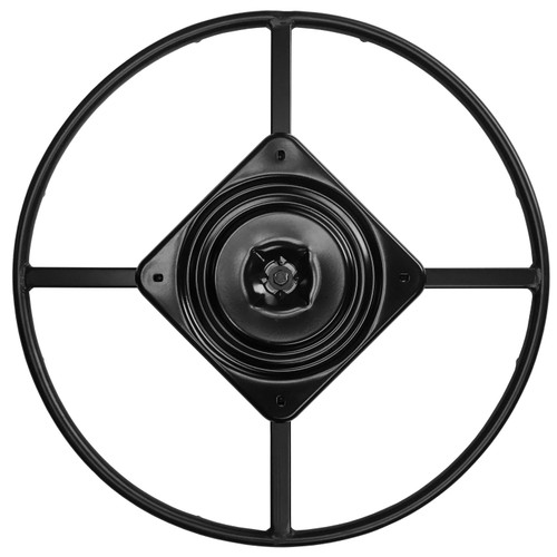 """Top View - 25.5"""" Replacement Ring Base w/ Swivel for Recliner Chairs & Furniture, Includes Swivel - S5471"""