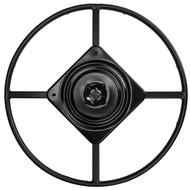 "Top View - 25.5"" Replacement Ring Base w/ Swivel for Recliner Chairs & Furniture, Includes Swivel - S5471"