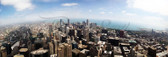 Chicago from the Sears Tower Panoramic