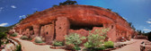 Manitou Cliff Dwellings Panoramic