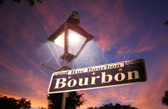 New Orleans' Rue Bourbon