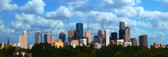 Houston Skyline Panoramic