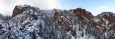 Snowy 7 Falls Panoramic