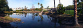 The La Brea Tarpits Panoramic