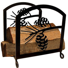 Pinecone Wood Rack