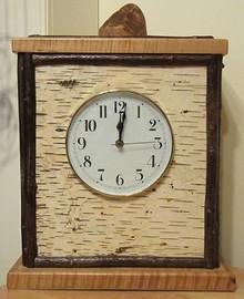 Adirondack Birch Clock