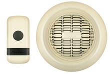 Sportman's Wireless Doorbell, almond  ON SALE!