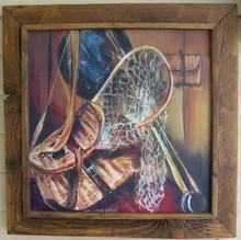 Barnboard frame