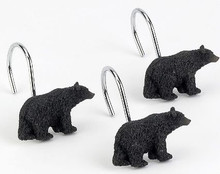 Black Bear Lodge Shower Hooks