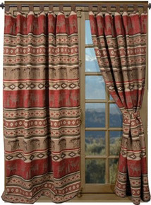 Adirondack Collection Drapes and Valance