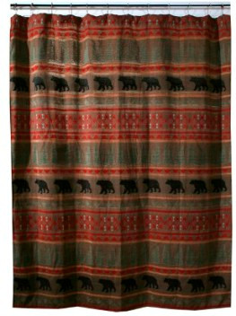 Bear Country Shower Curtain Image 1