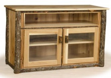 Hickory and Oak Entertainment Center
