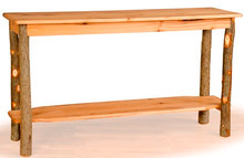 Hickory and Oak Sofa Table