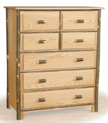Hickory and Oak 7 drawer chest