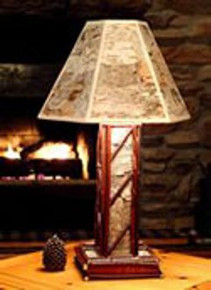 Adirondack Table Lamp