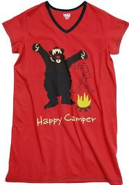 Happy Camper Nightshirt