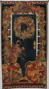 Autumn Door Panel