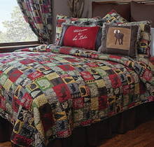 Cabin in the Woods Quilt Set