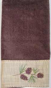 Pine Branch Hand Towel