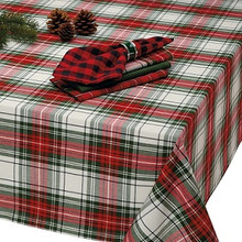 Christmas Plaid Tablecloth