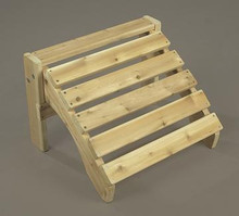 Cedar Adirondack Chair Ottoman