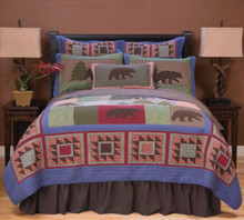 Wilderness Bear Quilt Set