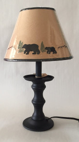 Bear Candlestick Lamp - 17""