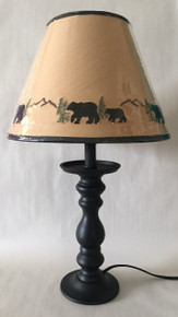 Bear Candlestick Lamp - 20""