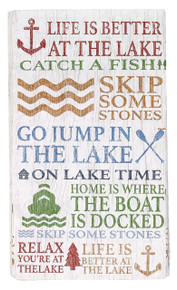 Lake Words Guest Paper Towels