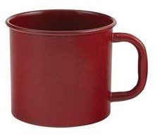 Rustic Red Enamelware Mug - SALE!