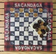 Checkerboard Sacandaga