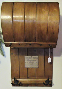 Antique Toboggan Coat Rack